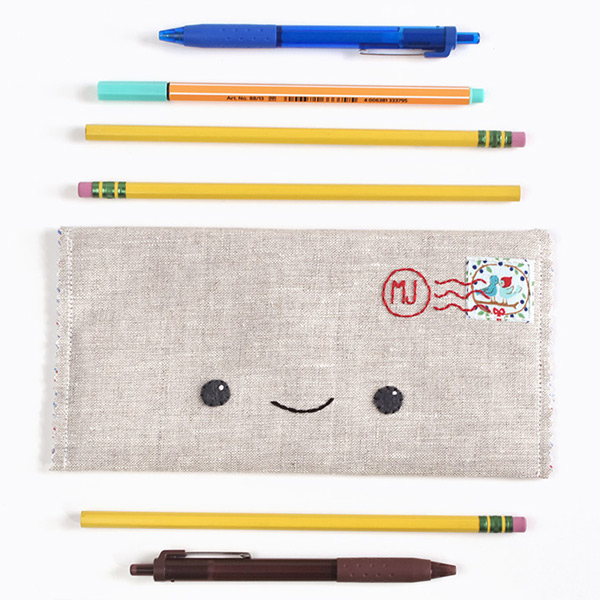 DIY happy mail pencil case