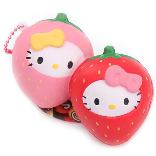 Hello Kitty kawaii keychains