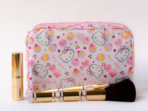 hello kitty kawaii makeup bag