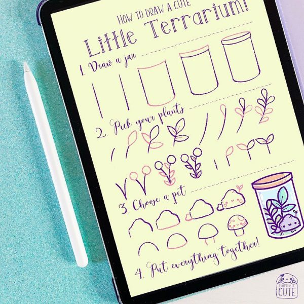 Cute Drawing Tutorials On Instagram - crafterofcute