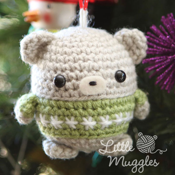Christmas Crochet Patterns - bear