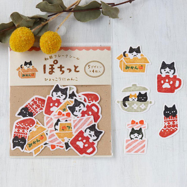 cat stickers at Cute Things From Japan