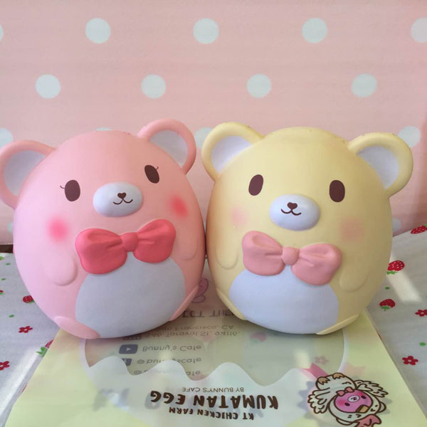kawaii bear easter egg squishy