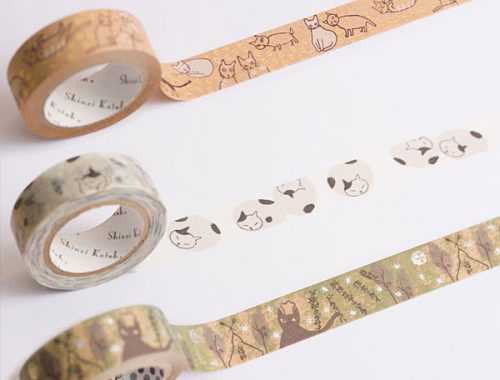 shinzi katoh washi tape kawaii giveaway