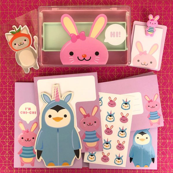 Paperchase kawaii stationery
