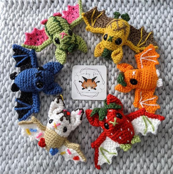 bats crochet pattern