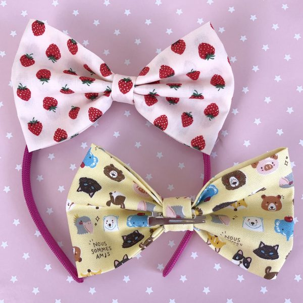 Making Kawaii Fabric Hair Bows With Modes4u