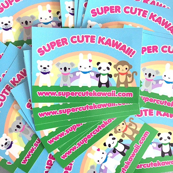 Super Cute Kawaii stickers