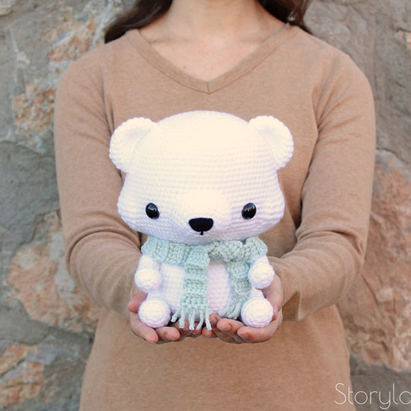 Christmas Crochet Patterns - polar bear