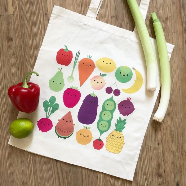 kawaii eco-friendly shopping bag