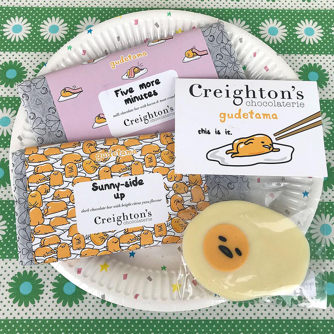 Creighton's Gudetama Chocolate