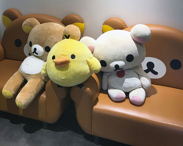 Rilakkuma Cafe Arashiyama Japan