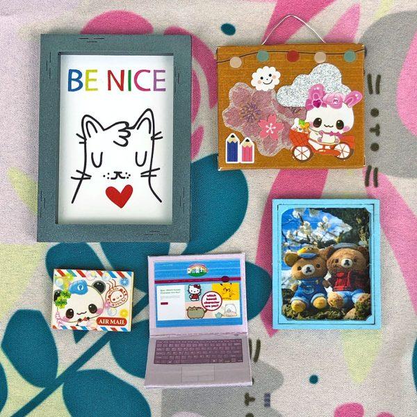 Super Cute Kawaii dollhouse kit