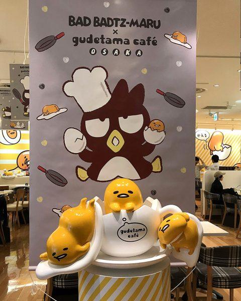 Gudetama Cafe Osaka Japan