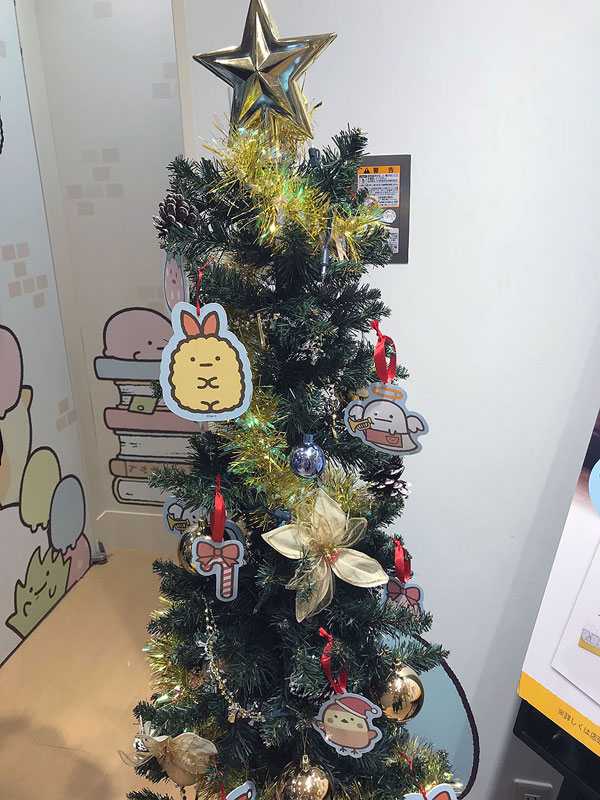 Christmas in Japan - Sumikko Gurashi Shop