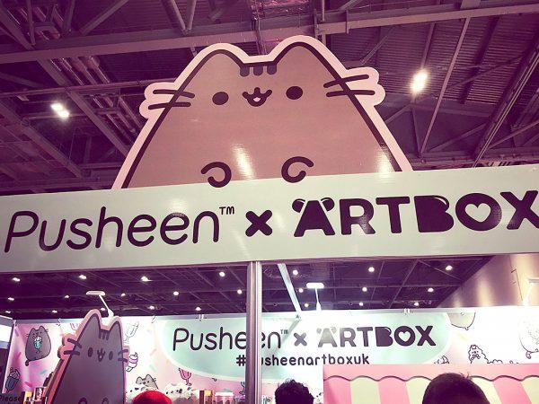 Pusheen x ARTBOX event