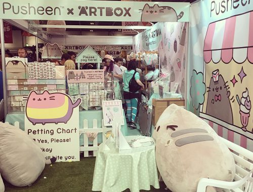 Pusheen x ARTBOX event