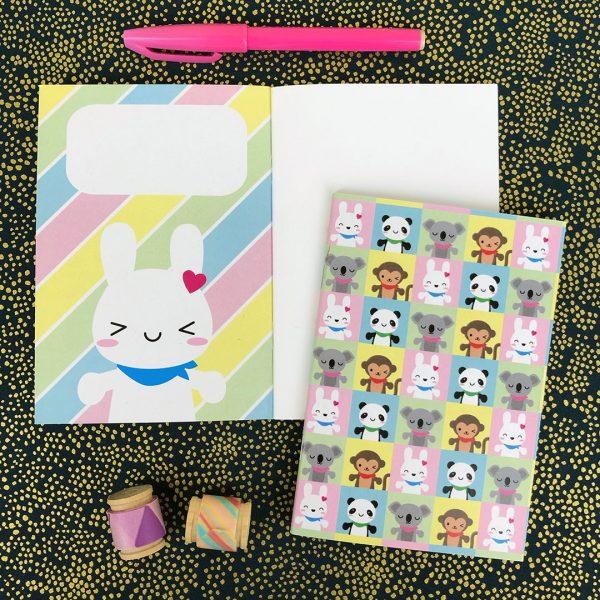 kawaii stationery notebooks
