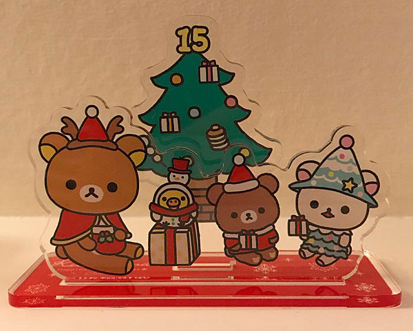 Christmas in Japan - Rilakkuma Store