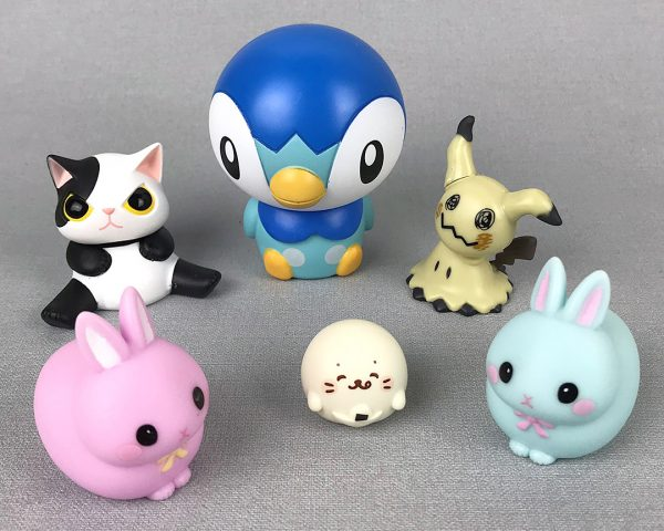 kawaii gachapon toys