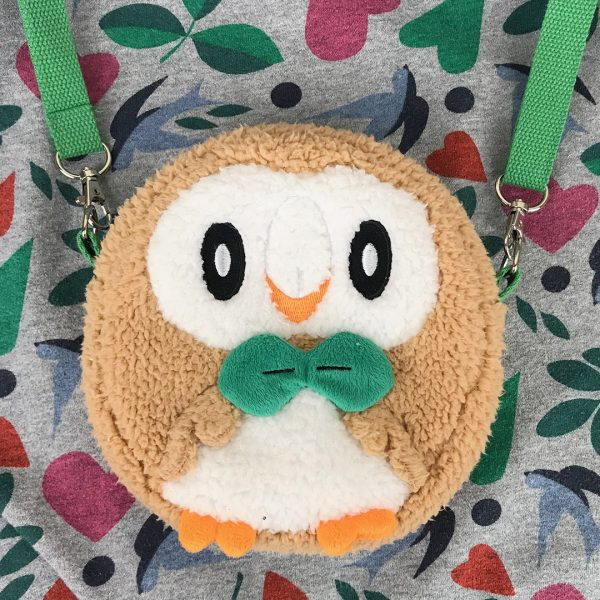 kawaii Rowlet Pokemon bag