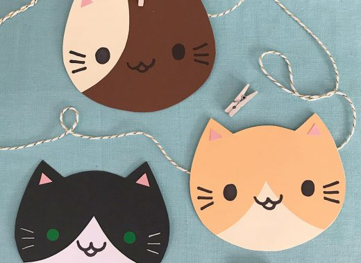 DIY Kawaii Cats Paper Craft Tutorial