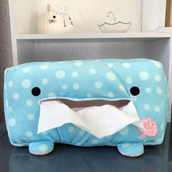 jinbe san kawaii tissue box