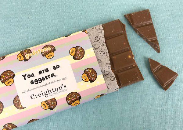 Creighton's x Gudetama Easter Chocolate Review