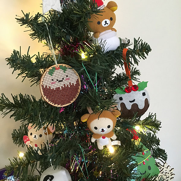 Japanese Christmas Tree Ornaments.Kawaii Christmas Decorations Super Cute Kawaii