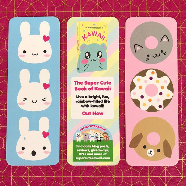 The Super Cute Book of Kawaii! bookmarks