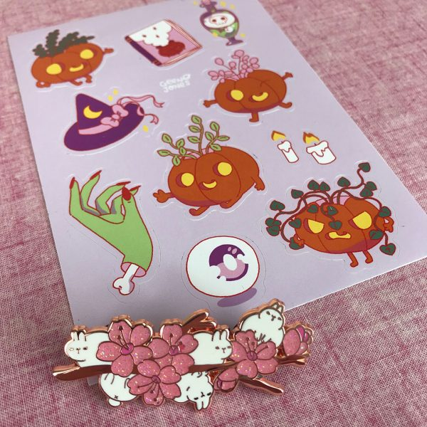 Halloween kawaii stickers