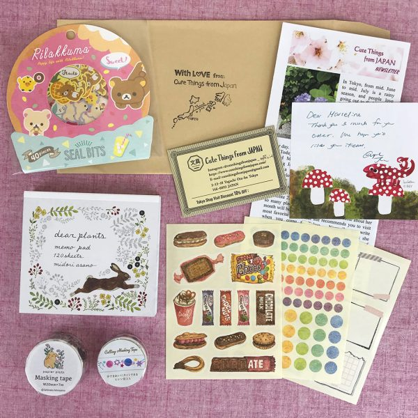 Kawaii stationery from Cute Things From Japan