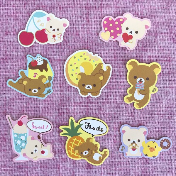 Rilakkuma stickers from Cute Things From Japan