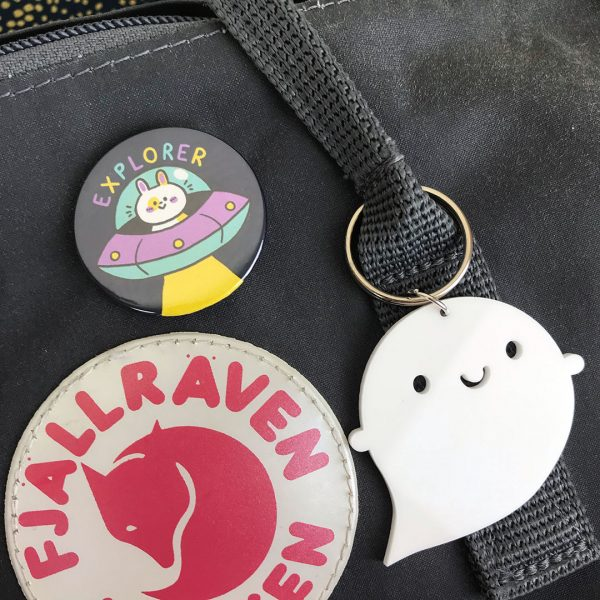 kawaii explorer badge
