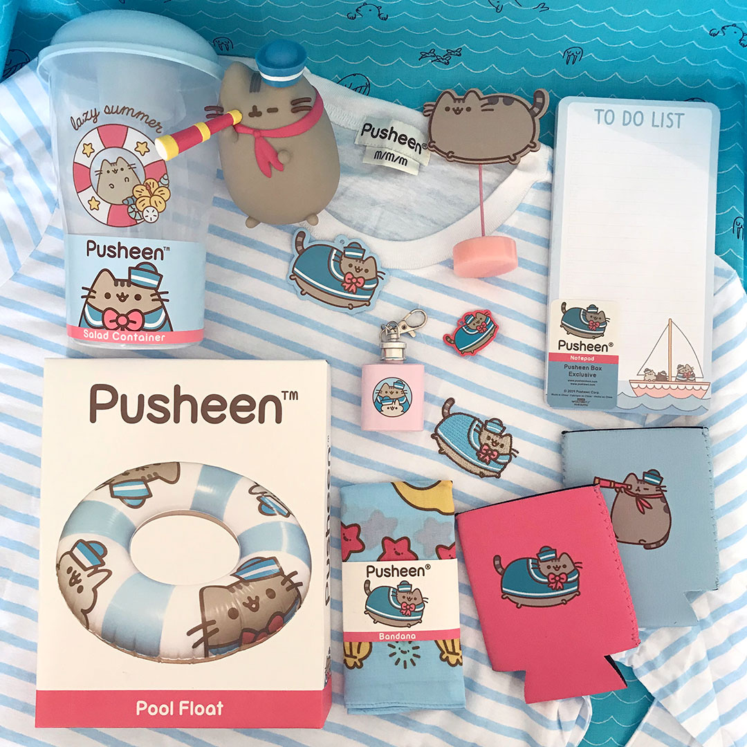 Summer 2019 Pusheen Box Review