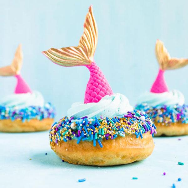 mermaid donuts recipe