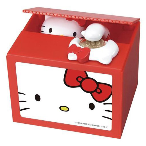 Hello Kitty Itazura kawaii coin banks