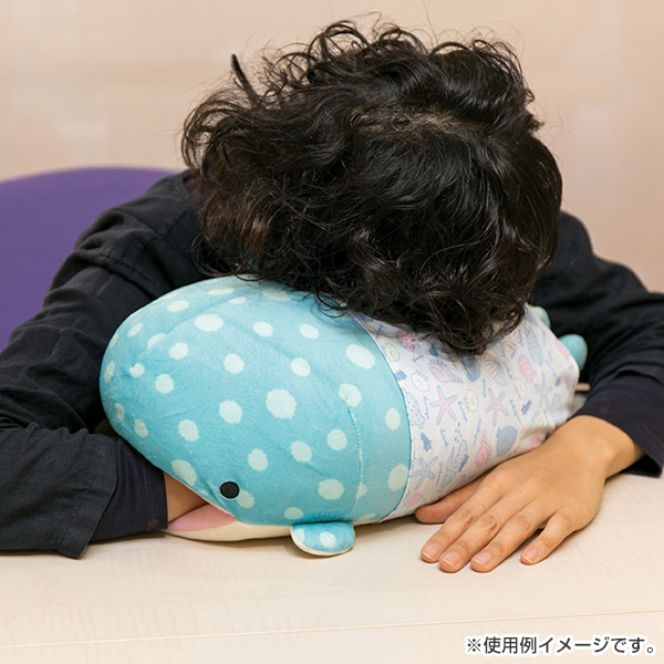 Jinbe San kawaii whale shark plush