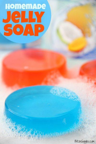 DIY jelly soap