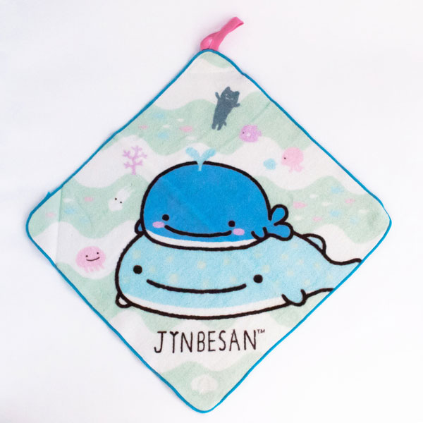 jinbe san kawaii wash towel