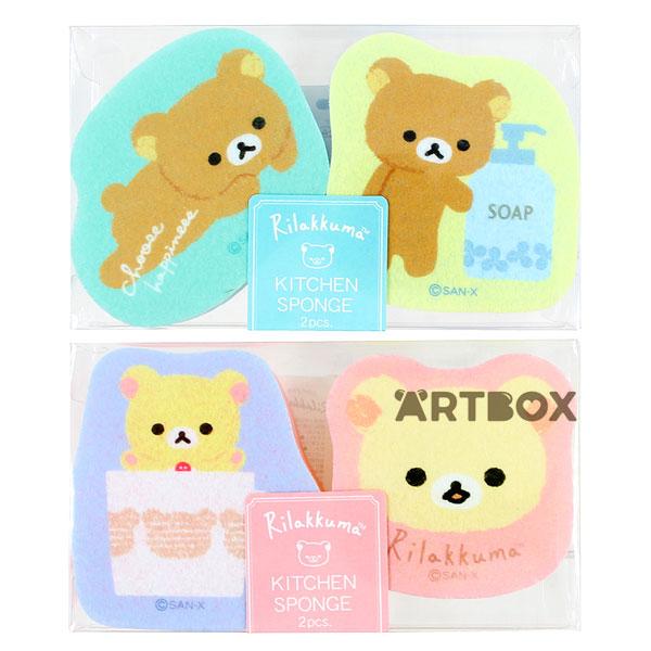 Rilakkuma cute kitchen sponges