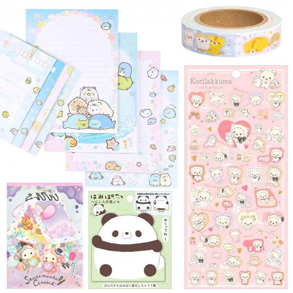 san-x kawaii stationery
