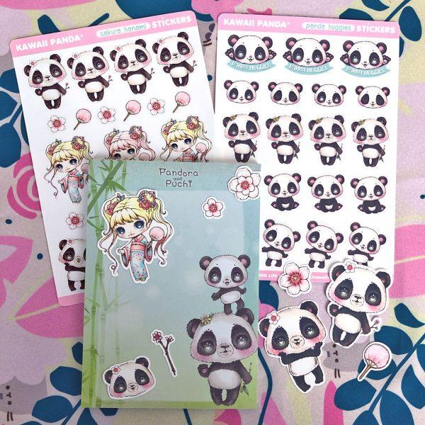 Kawaii Stationery Shops - Kawaii Panda
