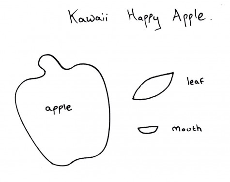 Kawaii-Happy-Apple-Template