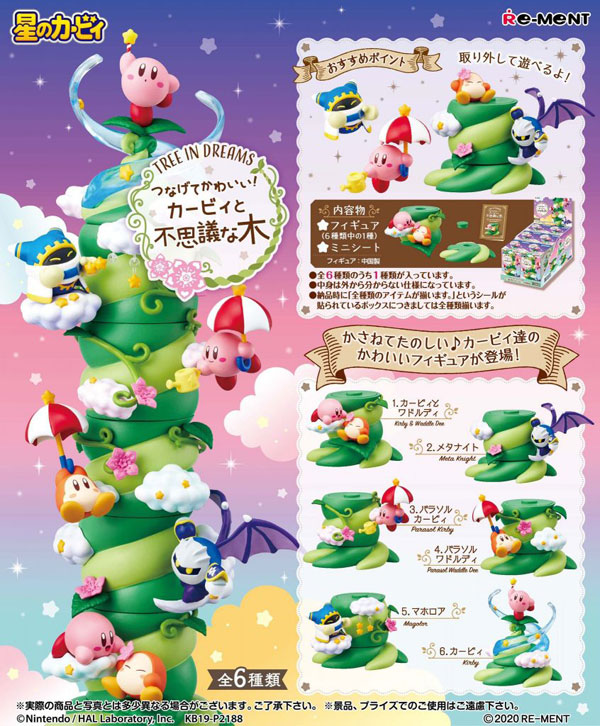 Kirby Re-Ment Miniatures