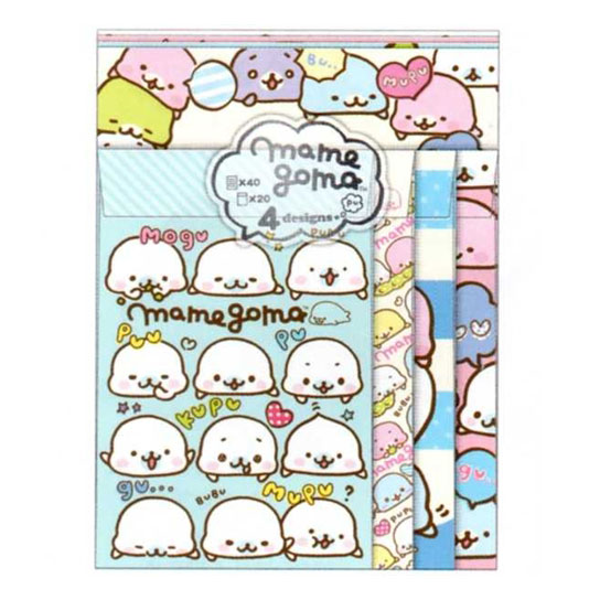 Mamegoma kawaii stationery