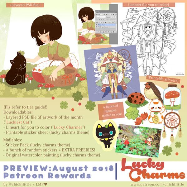 Kawaii Patreon - Little Miss Paintbrush