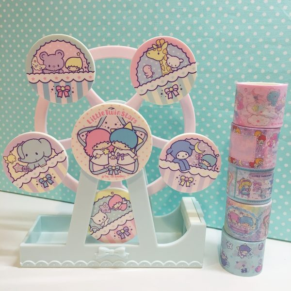Little Twin Stars washi tape ferris wheel