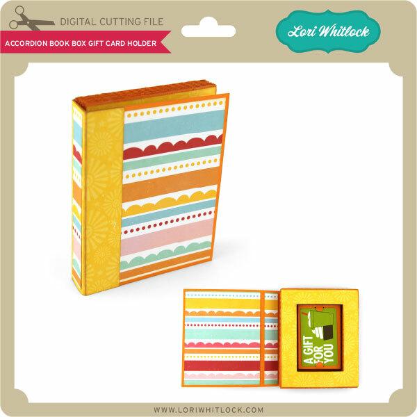DIY accordion book box
