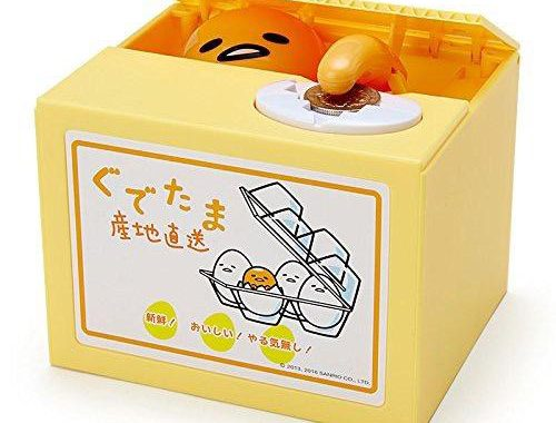Gudetama Itazura kawaii coin banks